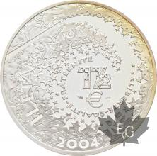 FRANCE-2004-1-Euro-1/2-PETER-PAN-PROOF-BE
