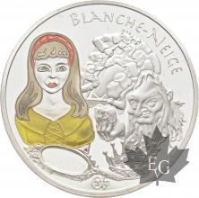 FRANCE-2002-1-Euro-1/2-BLANCHE-NEIGE-PROOF-BE