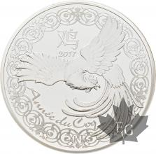 FRANCE-2017-10-Euro-ANNEE-DU-COQ-PROOF-BE