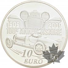 FRANCE-2009-10-Euro-ETTORE-BUGATTI-PROOF-BE