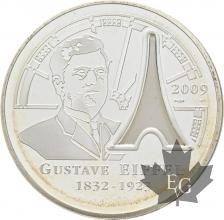 FRANCE-2009-10-Euro-GUSTAVE-EIFFEL-PROOF-BE