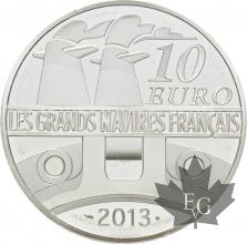 FRANCE-2013-10-Euro-L'AMAZONE-PROOF-BE