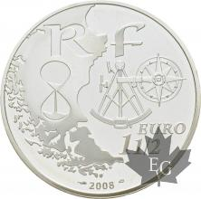 FRANCE-2008-1-Euro-1/2-L'ARMADA- ROUEN-PROOF-BE