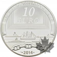 FRANCE-2014-10-Euro-LE-REDOUTABLE-PROOF-BE