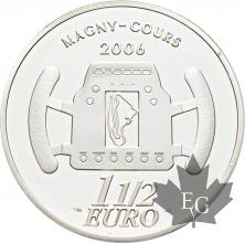 FRANCE-2006-1-Euro-1/2-GRAND-PRIX-ACF-PROOF-BE