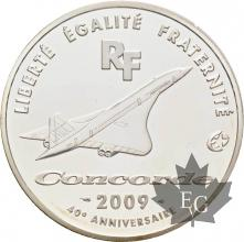 FRANCE-2009-10-Euro-CONCORDE-PROOF-BE
