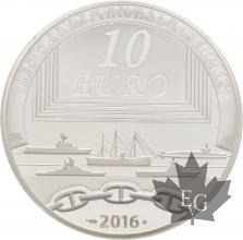 FRANCE-2016-10-Euro-CHARLES-DE-GAULLE-PROOF-BE