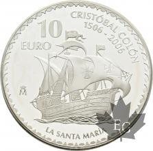 ESPAGNE-2006-10-EURO-COLOMBO-SANTA-MARIA-PROOF-BE