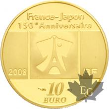 FRANCE-2008-10-EURO-MONNAIE-KANEI-THUHO-PROOF-BE