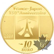 FRANCE-2008-10-EURO-TABLEAU-FRANCAIS-PROOF-BE