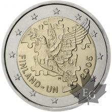 FINLANDE-2005-2 EURO COMMEMORATIVE