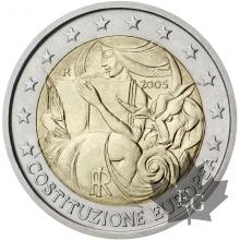 ITALIE-2005-2 EURO COMMEMORATIVE