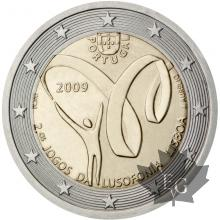 PORTUGAL-2009-2 EURO COMMEMORATIVE