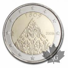 FINLANDE-2009-2 EURO COMMEMORATIVE