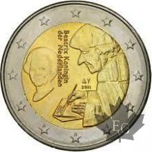 PAYS BAS-2011-2 EURO COMMEMORATIVE
