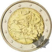 ITALIE-2008-2 EURO COMMEMORATIVE