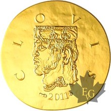 FRANCE-2011-50 EURO-CLOVIS-PROOF