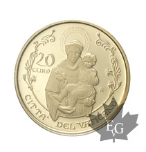VATICAN-2017-20 EURO OR-PROOF
