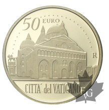VATICAN-2017-50 EURO OR-PROOF