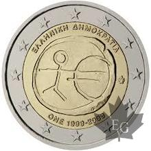 GRECE-2009-2 EURO COMMEMORATIVE EMV