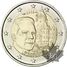 LUXEMBOURG-2008-2 EURO COMMEMORATIVE