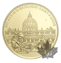 FRANCE-2006-10 EURO-BASILIQUE SAINT PIERRE-PROOF