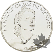MONACO-2019-10 EURO ARGENT PRINCESSE GRACE -PROOF