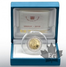 VATICAN-2019-2 EURO commemorative REST. SISTINA-PROOF