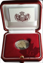 MONACO-2020-2 EURO COMMEMORATIVE-HONORÉ III-PROOF BE