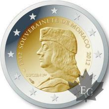 MONACO-2012-2 EURO PP PROOF SANS BOÎTE EN CARTON-NO WHITE BOX
