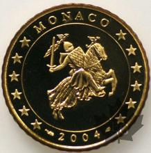 MONACO-2004-50 CENTIMES EURO-PROOF-BE