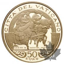 VATICAN-2013-50 EURO OR-PROOF