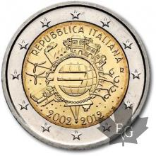 ITALIE-2012-2 EURO COMMEMORATIVE