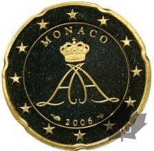 MONACO-2006-20 CENTIMES-PROOF
