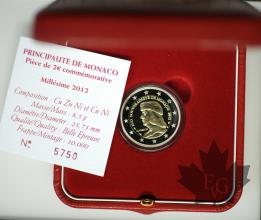 MONACO-2012-2 EURO PP PROOF