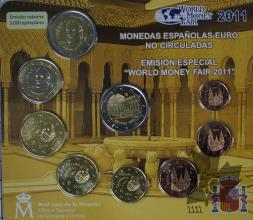 ESPAGNE-2011-Série BU World Money Fair Berlin 2011