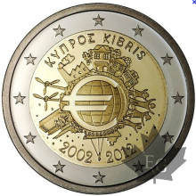 CHYPRE-2012-2 EURO COMMEMORATIVE