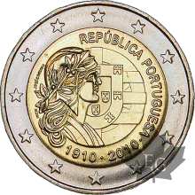 PORTUGAL-2010-2 EURO COMMEMORATIVE