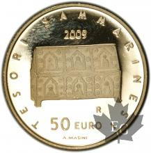 SAINT MARIN - 2009 - 50 Euro or