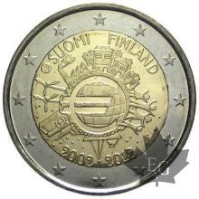 FINLANDE-2012-2 EURO COMMEMORATIVE