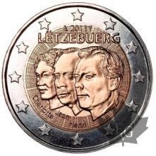 LUXEMBOURG-2011-2 EURO COMMEMORATIVE