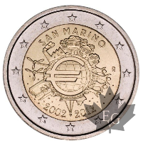 SAINT MARIN-2012- 2 EURO COMMEMORATIVE