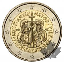 SLOVAQUIE-2013-2 EURO COMMEMORATIVE