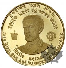 Ethiopie-20 dollars or-gold