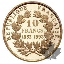 France-10 Francs 1993-or-gold
