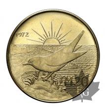 Malte-20 Pounds 1972-or- gold