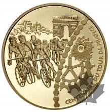 France-20 euro or 2003-TOUR DE FRANCE-Typologies mixtes