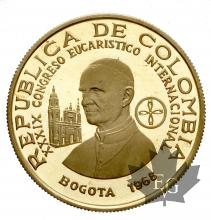 Colombie-200 Pesos gold-Proof