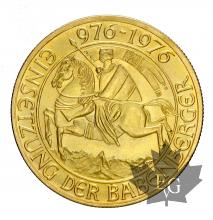 Autriche- 1000 Shilling or gold