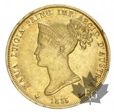 Italie - Parme- Marie Louise - oro gold -40 lire 1815